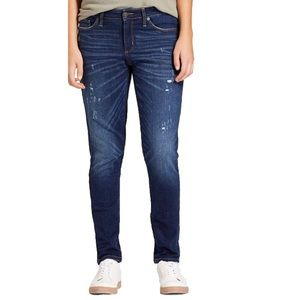 Universal Thread Distressed Mid Rise Skinny Jeans